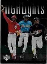 1997 Upper Deck Baseball, #214, Smith, Puckett, Dawson, Highlights, Checklist - $0.99
