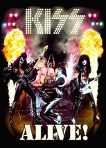 KISS Band ALIVE! Era Animated Stand-Up Display - Album Rock Music Concer... - $15.99