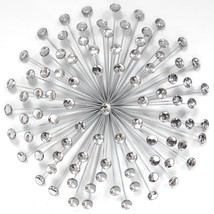 24 Silver Acrylic Burst Wall Decor - $82.08