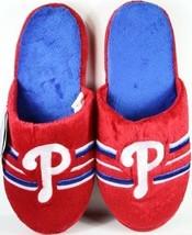 Philadelphia Phillies Slippers Slides House Shoes MLB Baseball Big Stripe