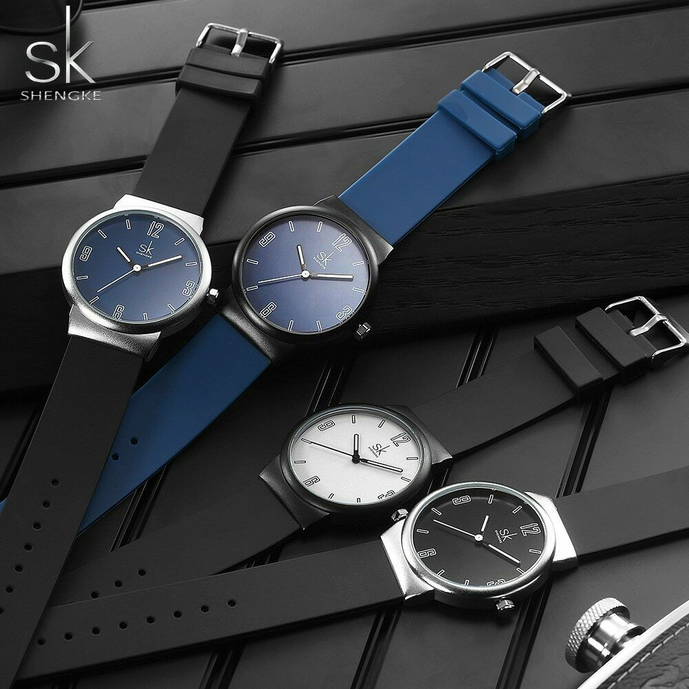 Primary image for SK® Watches Mens Watches Brand Luxury Ultra-thin Analog Quartz Wrist Watch Sport