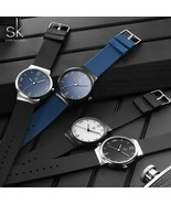 SK® Watches Mens Watches Brand Luxury Ultra-thin Analog Quartz Wrist Wat... - $26.40