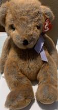 "Ty Classic Penny Teddy Bear Plush 2000 12"" Purple Bow - $7.92"