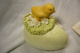 Bethany Lowe Chick on Egg Candy Container image 1