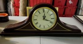 The Bombay Company Mahogany Mantle Clock - $33.75