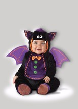 Incharacter Baby Bat Animal Zoo Cute Baby Infant Halloween Costume 16009 - $29.95