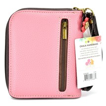 Chala Handbags Faux Leather Whimsical Butterfly Zip Around Wristlet Wallet image 2