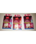 Hanes Microfiber Boyshorts  womans panties 3 Pack Sizes- S,M,L,XL NIP - $8.44