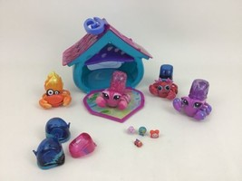 Xia Xia Pets Hermit Crabs Motorized House Playset Lot (22) Toys Cepia - $44.50