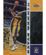 Shaquille O'Neal Donruss Optic 19-20 #17 Winner Stays Los Angeles Lakers - $1.25