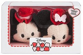Disney Mickey and Minnie Mouse ''Tsum Tsum'' Plush Valentine's Day 2017 ... - $9.80