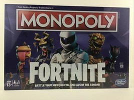 Monopoly Fortnite Edition Board Game 2018 New Sealed Property Hasbro Gam... - $49.45
