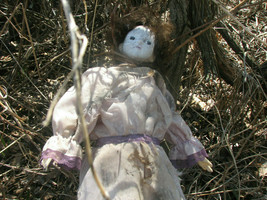 """""""STRANGLED BY VINES"""" AND BURNT DOLL --FROM THE HAUNTED KRAUSEMUELLER EST... - $742.50"""