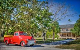 1952 Chevy Truck farm 24X36 inch poster, sports car, muscle car - $18.99