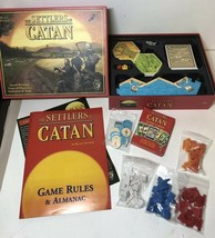 The Settlers Of Catan #3061 Board Game Complete 4th Edition 2007 Mayfair... - $39.59