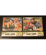 Lot Of 2 Glow In The Dark Hidden Images 500 Piece Puzzles  - $24.75