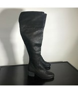 "(new) Report Women Sz 8 ""Fisher"" Over The Knee Black Fashion Boots  - $44.55"
