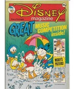 Disney Magazine #83 UK London Editions 1987 Color Comic Stories VERY FINE- - $8.79