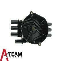 Distributor Cap Crab Style Compatible with Chevy Chevrolet GM Vortec V-6 Black image 2