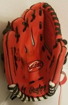 "Rawlings Player Series Tee Ball Glove PL10SS 10"" LHT Red / Mesh Back - $10.66"