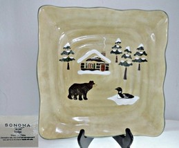 Sonoma Life & Style Lodge Square Dinner Plate - $26.72