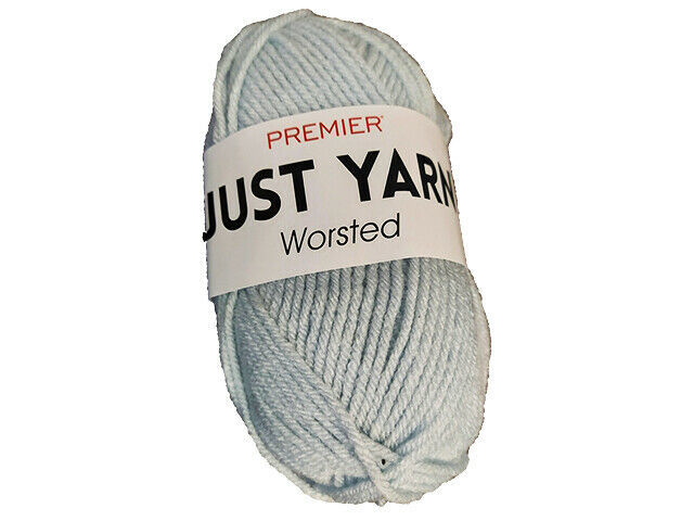 Premier Just Yarn Worsted in Ice Blue #1116-89
