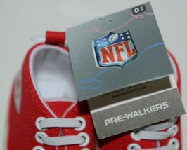 Baby Fanatic KCC2140 Kansas City Chiefs NFL Pre Walkers Baby Shoes 0 to 6 Months image 7