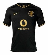 Kaizer Chiefs Nike Black Gold Jersey 2019-20 L/large AT0037-011 NWT Sout... - $59.39