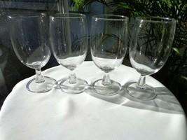 Set of 4 Kusak Clear Classic Pattern Iced Tea Glasses - $23.76