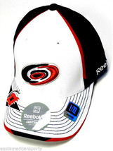 Carolina Hurricanes NHL Reebok Center Ice Hat Cap White Black Pro Shape ... - €13,32 EUR