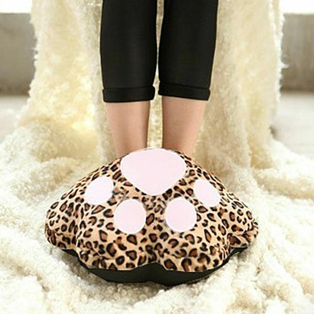 Bedroom Slipper Electric Usb Foot Warmer Pad Computer Footwear Heater Shoes Home