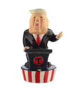 Donald Trump 3D Piggy Bank, Ceramic US President Funny Money Box in Gift... - $19.79