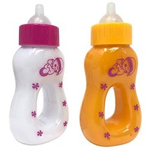 The New York Doll Collection Magic Juice and Milk Bottle Set for Baby Do... - $18.16