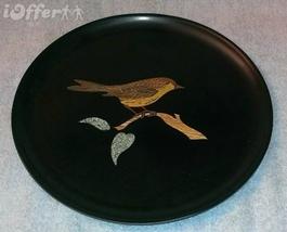 EAMES ERA MID CENTURY MODERN-- COUROC BIRD/ SPARROW, WREN ROUND TRAY 10 ... - $27.45