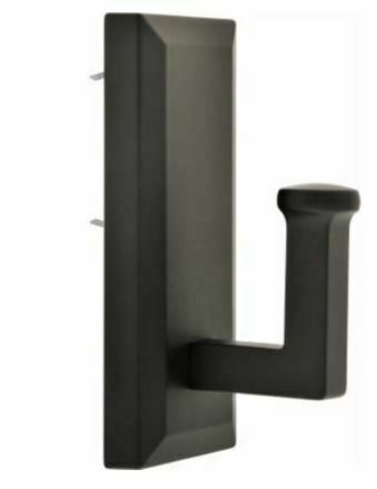515807 Large Decorative Hook, Bronze, Holds 25-Lbs. Holds Up To 25lb