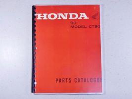 66-68 Honda CT90 CT90K0 Trail 90 Parties Fiche Poisson Diagramme Livre Manuelle - $75.07