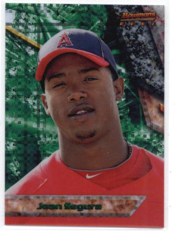 Primary image for 2011 Bowman Bowman's Best Prospects x-Fractors #BBP62 Jean Segura Angels (NM-MT