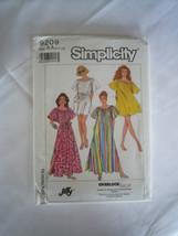 Vintage 80's Swimsuit Cover-Up Patio Dress Patt... - $6.92