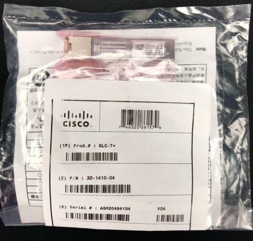 GENUINE GLC-T CISCO 1000 BASE-T SFP 30-1410-04