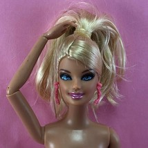Barbie 2012 FASHIONISTAS CLUTCH WAVE 1 Nude Blonde Articulated Pivotal D... - $12.00