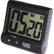 Kitchen Large Digital LCD Electronic Timer Stopwatch Countdown Fridge H... - €12,49 EUR