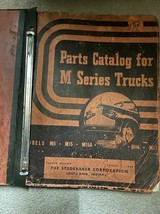 1941 1944 1945 1948 Studebaker M Serie Camion Parti Catalog Manuale Fabb... - $39.57