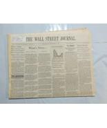 Wall Street Journal December 2 1992 Construction Spending Tax Report Mos... - $39.99