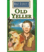 Old Yeller (VHS TAPE) FESS PARKER DOROTHY MCGUIRE CHUCK CONNORS - $6.99