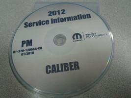 2012 Dodge Caliber Service Shop Repair Manual Cd Dvd Dealership Brand New 2012 - $197.99