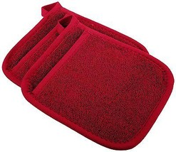 Ritz Royale Collection Pocket Mitt Set, Paprika, 2-Piece, New, Free Ship... - $20.99