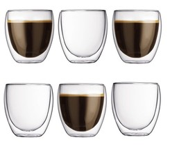 Imperial Home Double Wall Insulated 8 oz. Glass Tea Coffee Cup - $12.59+