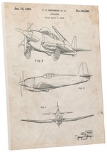 """Pingo World 0301Q3X410G """"US Navy Airplane with Folding Wings Patent"""" Gal... - $44.50"""