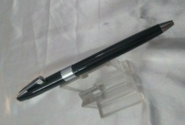 VINTAGE SHEAFFER IMPERIAL BLACK BALL POINT PEN MADE IN USA NOS - $60.22