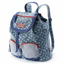 Unionbay Stars Denim Backpack School Book Bag Bookbag - NWT - $27.59